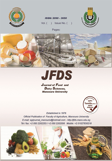 Journal of Food and Dairy Sciences